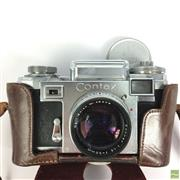 Sale 8648A - Lot 22 - Contax/Zeiss Vintage Cameras (2)