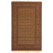 Sale 8890C - Lot 22 - Afghan Fine Vintage Turkoman Carpet, 312x223cm, Wool & Silk