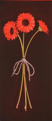Sale 9047A - Lot 5061 - Peter Hickey (1943 - ) - Gerberas, 1991 57.5 x 25 cm, 76 x 35.5 cm (sheet size)