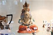 Sale 8292 - Lot 22 - Chien Lung Period Ceramic Amitayus Buddha