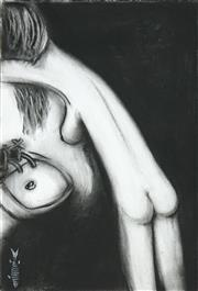 Sale 8467 - Lot 599 - Gordon Richards (1945 - ) - Nude Study 50 x 35cm (sheet size: 55 x 39cm)