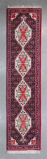 Sale 8480C - Lot 16 - Persian Super Fine Bidjar Runner 250cm x 60cm