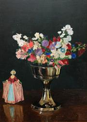 Sale 8675 - Lot 595 - Herbert Davis Richter (1874 - 1955) - Still Life 54.5 x 38.5cm