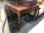 Sale 8868 - Lot 1194 - Timber Single Drawer Table