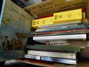 Sale 7943A - Lot 1617 - Box of Various Books incl Wisden Cricketers Almanack 1983; Amery, C. James Cook R.N.; National Treasures; etc