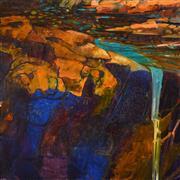 Sale 8408 - Lot 551 - Geoff La Gerche (1940 - ) (8 works) - Homage to Von Guerard (octaptych) 91 x 91cm, each (overall: 91 x 728cm)