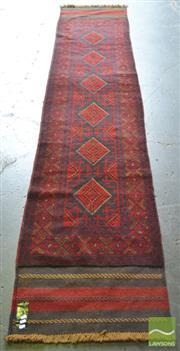 Sale 8431 - Lot 1064 - Persian Sumac Runner (360 x 63cm)