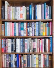 Sale 8486A - Lot 91 - Four shelf lots of books, mainly hardbacks including vintage
