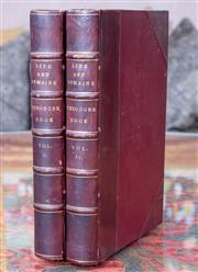 Sale 8568A - Lot 67 - Reverend Dalton Barham, The Life & Remains of Theodore Edward Hook, 2 volumes, 4th Ed, London 1850
