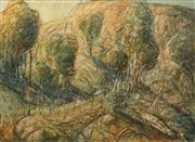 Sale 8633 - Lot 585 - Patrick Shirvington (1952 - ) - Whispering Through the Gully 71 x 101cm