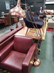 Sale 8669 - Lot 1013 - Copper Standard Lamp