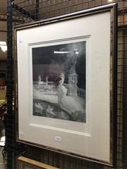 Sale 8750 - Lot 2025 - Norman Lindsay - Leda, facsimile etching no.187, 55 x 45cm (frame),Odana certificate of authenticity verso