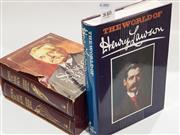 Sale 8822B - Lot 840 - 2 Volume Set A.B. Paterson, 1885-1914; Plus The World of Henry Lawson, ed. & signed by W. Stone, pub. P. Hamlyn, 1974;