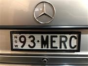 Sale 8818V - Lot 3 - NSW Premium Custom Number Plate 93MERC