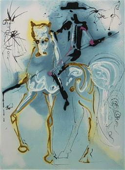 Sale 9108A - Lot 5038 - Salvador Dali (1904 - 1989) - Le Picador 55 x 36 cm