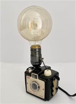 Sale 9142A - Lot 5012 - Kodak Brownie Camera Lamp, 26 x 11 x 7cm (including globe)