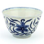 Sale 8356A - Lot 12 - Jingxi Fine Blue & White Cup