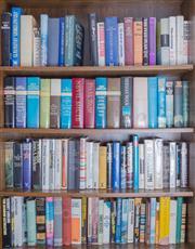 Sale 8486A - Lot 92 - Four shelf lots of books, mainly hardbacks including vintage