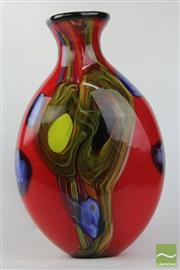Sale 8494 - Lot 10 - Art Glass Vase H: 45cm