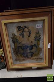 Sale 8497 - Lot 2053 - Artist Unknown (3 Works) - Untitled (French Lady) 21.5 x 17cm, each