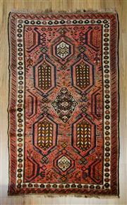 Sale 8576C - Lot 90 - Antique Persian Shiraz 209cm x 129cm