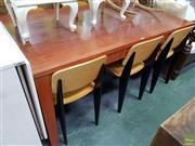 Sale 8601 - Lot 1390 - Sydney Bluegum Dining Table (78.5 x 168 x 102cm).