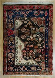Sale 8625C - Lot 63 - Persian Hamdan 140cm x 92cm
