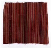 Sale 8715C - Lot 140 - A Persian Jajim Village Rug, Hand Woven Wool, 195 X 173Cm
