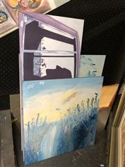 Sale 8779 - Lot 2046 - Group of 3 Decorative Prints, including John Brack, Adam Cullen, and Arthur Boyd, various sizes