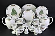 Sale 8877 - Lot 1 - Johnson Bros Christmas Dinner Service