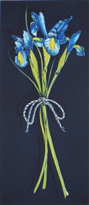Sale 9047A - Lot 5062 - Peter Hickey (1943 - ) - Iris, 1993 58 x 25 cm, 76 x 37 cm (sheet size)