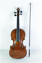 Sale 8968 - Lot 95 - Cased Violin