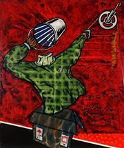 Sale 9019 - Lot 2083 - Eko Didyk Codit Sukowati - Modar Chocotum Dwew 2001 120 x 100 cm