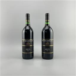 Sale 9173W - Lot 788 - 2x 1992 Peter Lehmann Shiraz, Barossa Valley