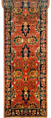 Sale 8290A - Lot 27 - Afghan Chobi 310cm x 80cm RRP $1800