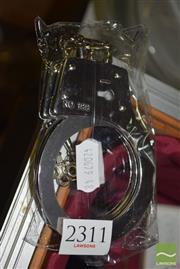 Sale 8509 - Lot 2311 - Hand Cuffs & Keys