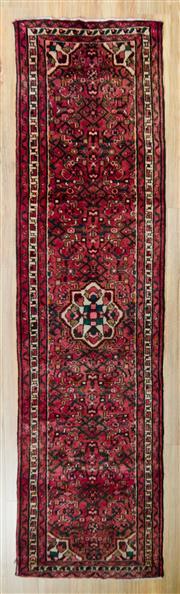 Sale 8576C - Lot 91 - Persian Husseinabad 283cm x 78cm