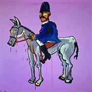 Sale 8659A - Lot 5004 - Adam Cullen (1965 - 2012) - Kelly 112 x 110cm