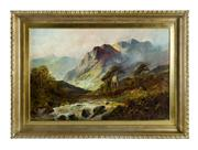 Sale 8660A - Lot 53 - F. E. Jamieson, British, 1895-1950 - Scottish Highlands 51 x 77cm