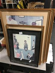 Sale 8690 - Lot 2078 - 5 Norman Rockwell Prints, Various Sizes