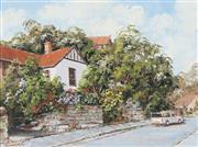Sale 8764 - Lot 587 - John Hingerty (1930 - 2019) - Flower Garden, Balmain 45 x 60cm