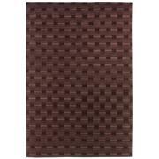 Sale 8890C - Lot 26 - Indian Geo Tonal Design Carpet, 200x300cm, Handspun Wool.