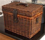 Sale 9066H - Lot 170 - A picnic basket.