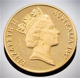 Sale 9153C - Lot 324 - AUSTRALIAN TWO HUNDRED DOLLAR GOLD COIN; Arthur Phillip Departure, 22ct gold, wt. 10.09g.