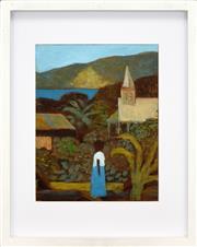 Sale 8316 - Lot 537 - Ray Crooke (1922 - 2015) - Thursday Island Morning 23.5 x 18.5cm