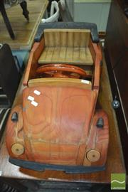 Sale 8337 - Lot 1058 - Kids Timber Ornamental Car