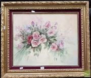 Sale 8478 - Lot 2010 - Hedy, Flowers, Oil SLL, 39.5x49.5cm
