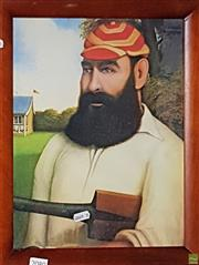 Sale 8604 - Lot 2080 - W.G. Grace Print