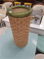 Sale 8676 - Lot 1302 - Sea Grass Surrounded Vase