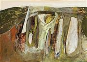 Sale 8839A - Lot 5039 - Brett Whiteley (1939 - 1992) - The Hill, c1958 36 x 52cm